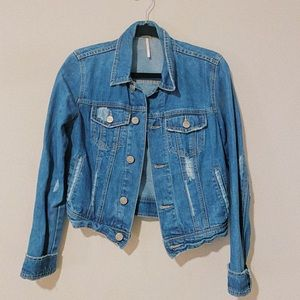 Free People denim jacket